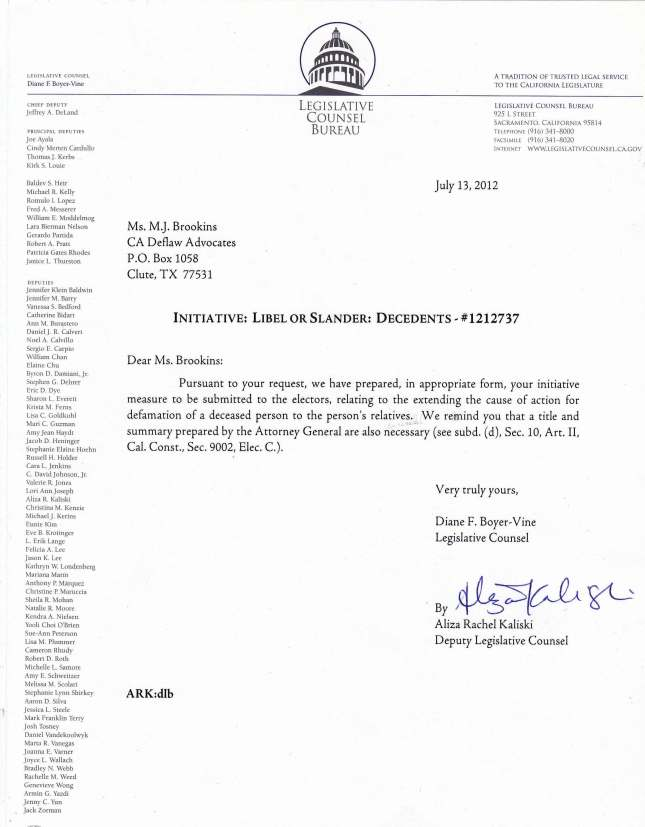 Update On The Advocacy Law 230812_Letter from Legislative Counsel