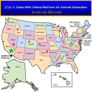 7 U.S. States With criminal Libel Laws for Internet Defamation