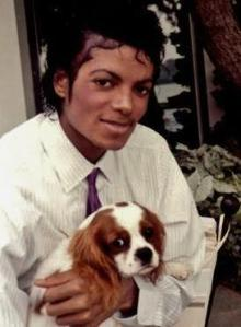 Michael & Puppy