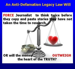 wILL THE MONEY OUTWEIGH THE HEART OF THE TRUTH