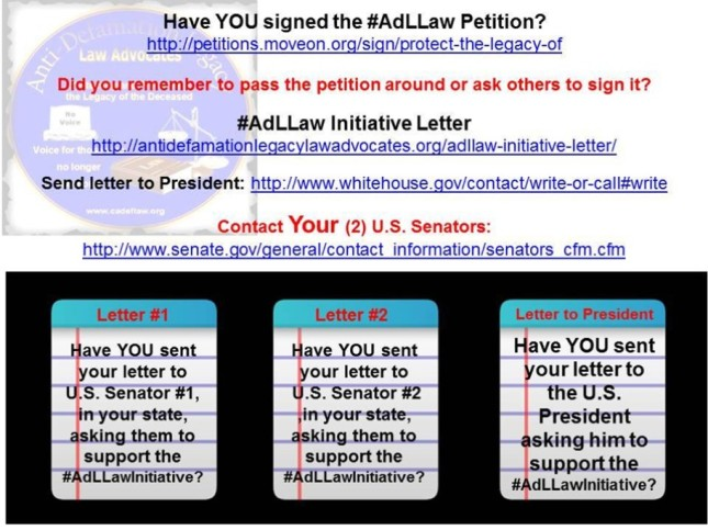 Have You Signed AdLLaw Petition