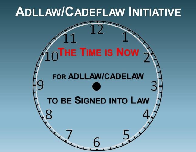 Time For AdLLaw is NOW