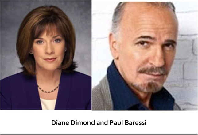 Diane Dimond and Paul Baressi