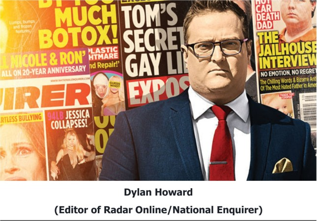 Dylan Howard Editor of Radar Online National Enquirer