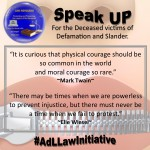 AdLLaw: Speak Up